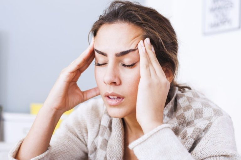 headache after tooth extraction